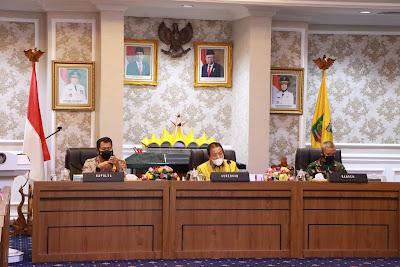 Gubernur Lampung Pimpin Rapat Kesiapan Penyelenggaraan Pemilihan Kepala Daerah Serentak 2020