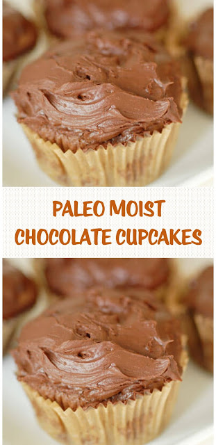 Paleo Moist Chocolate Cupcakes