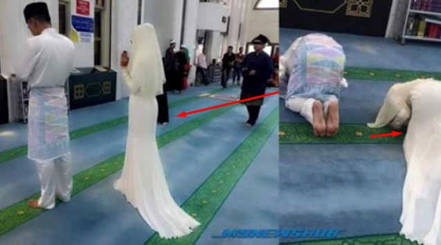 Hasil gambar untuk Dihujat Netizen, Miris!!! Suami Yang Bayar Mas Kawin, Pria Lain Yang Menikmati Lekuk Tubuhnya