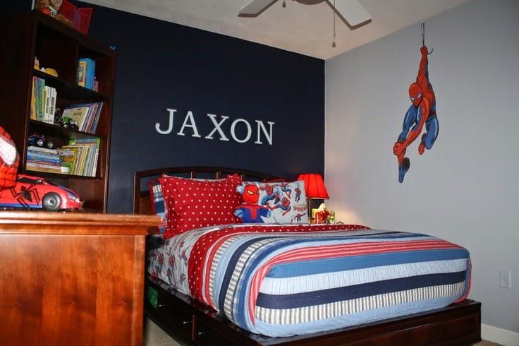 Decorar un dormitorio tem tico del hombre ara a for Cuartos decorados hombre arana