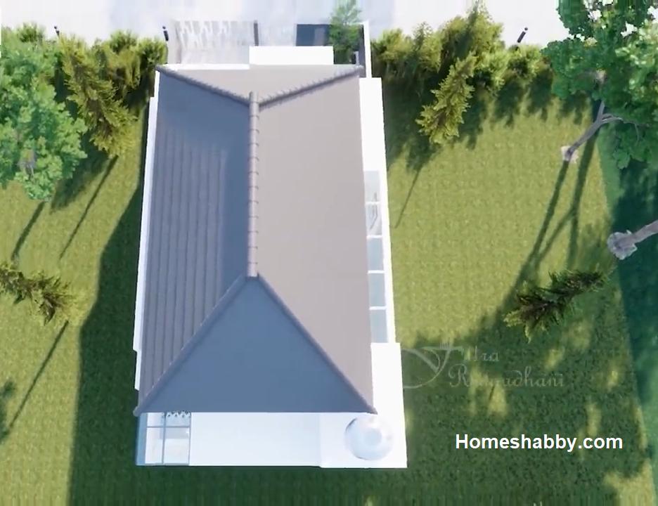 Thiết kế và Kế hoạch Nhà tối giản Kích thước 7 x 15 M với 3