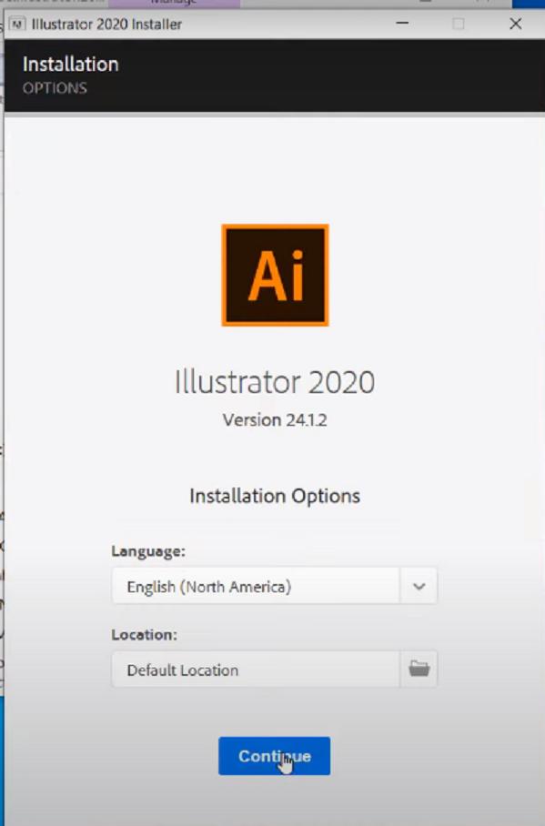 Hướng dẫn cài đặt phần mềm Adobe Illustrator đơn giản và chi tiết có hình ảnh e