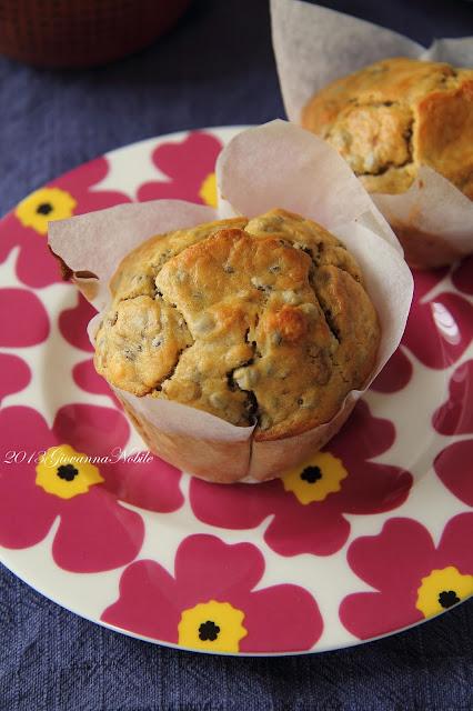 Muffin con le lenticchie