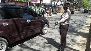 Bersama UPTD Samsat, Satlantas Polres Gowa Tertibkan Pajak Kendaraan