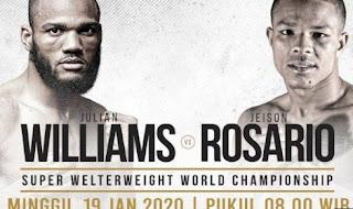 Julian Williams vs Jeison Rosario