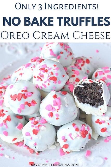 Christmas oreo cookie balls