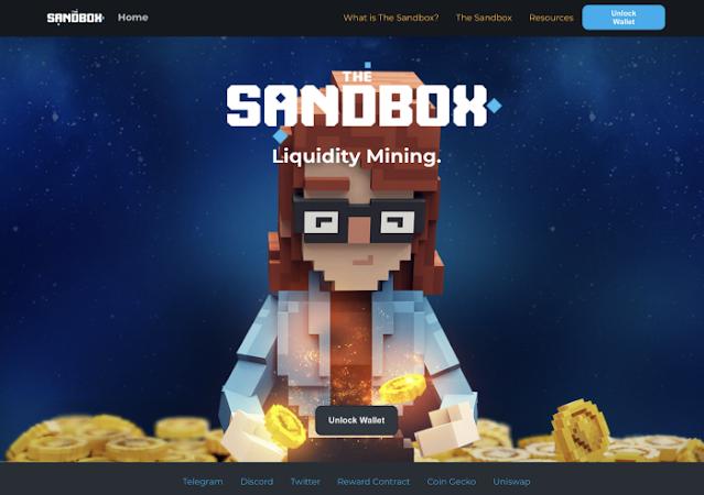 Sandbox staking