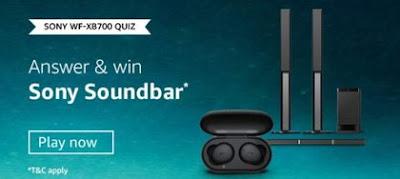 Sony WF-XB700 Quiz Answers