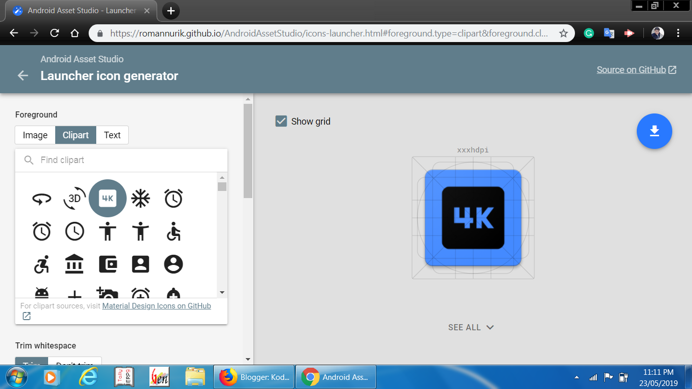 Creating Your Own App Icons | Android Tools