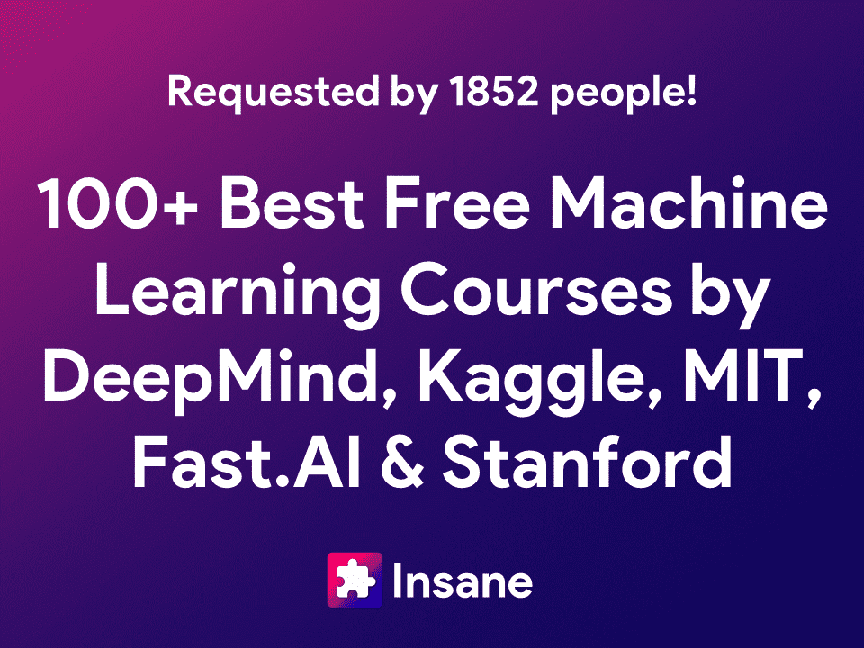 Best Free Machine Learning Courses and Deep Learning Courses