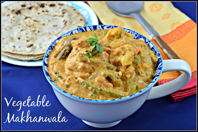 Vegetable Makhanwala Recipe