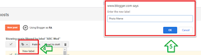 How to Change Your Labels on Blogger 2