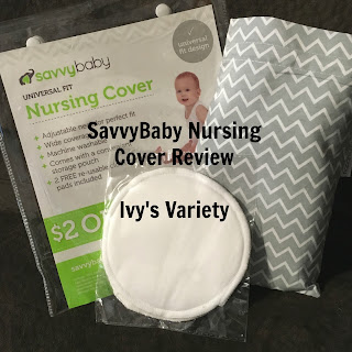 savvybaby nursing cover review #ivysvariety