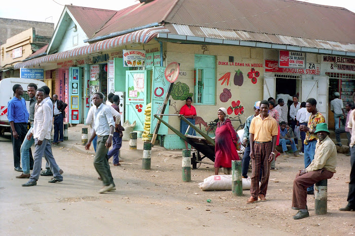 Kénya, Nairobi, © L. Gigout, 1991