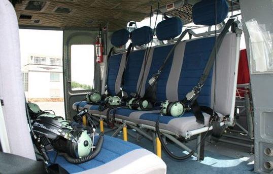 Bell 412EPI interior