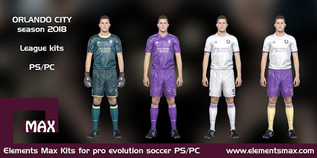 Orlando City PES Kits