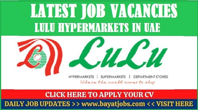 LuLu Hypermarket Jobs Latest Careers UAE 2020