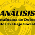Análisis de la Plataforma de Defensa del Trabajo Social en España