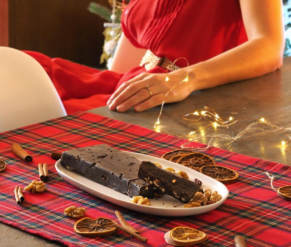 Turrón de chocolate casero sin azúcar7