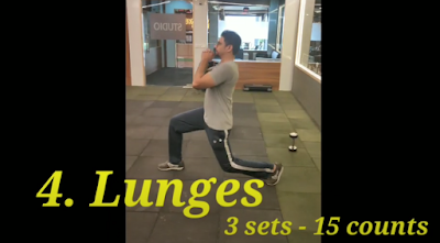 Lunges For Cricketers