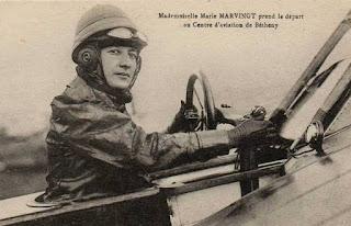 Marie Marvingt, la novia del peligro