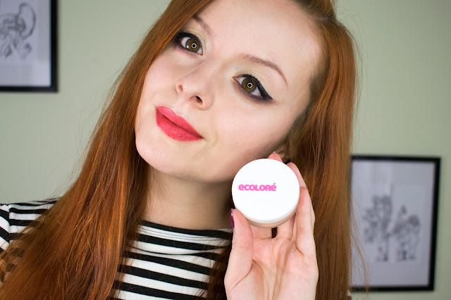 [435.] Makijażowe nowości: Ecolore, Boho Green Makeup, Felicea