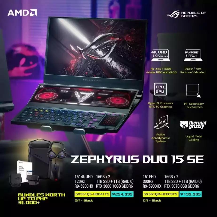 ROG Zephyrus Duo 15 SE Price and Specs