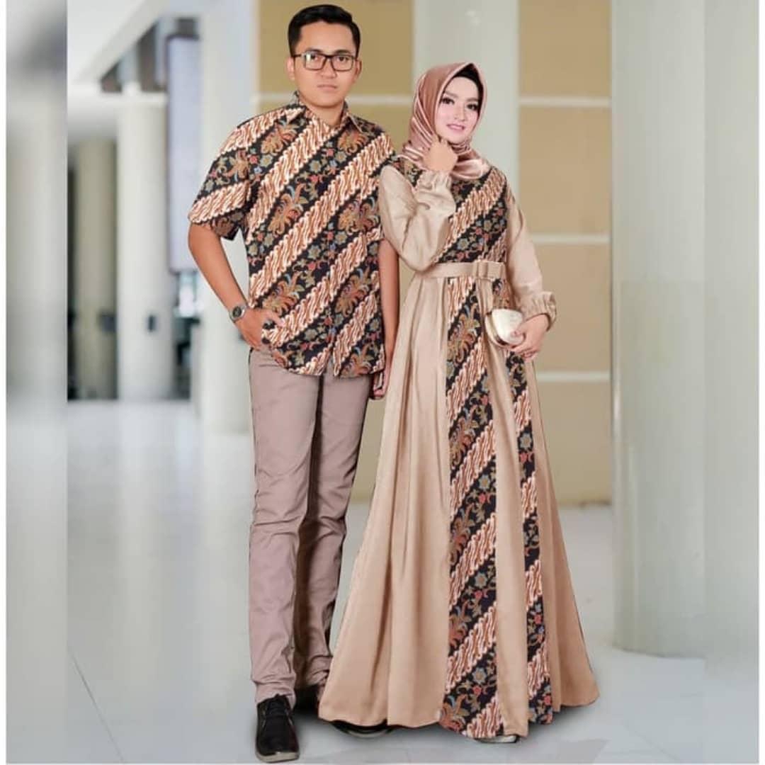 Model Baju Batik Kombinasi Terbaik 12 Desain Mewah Dan Modern