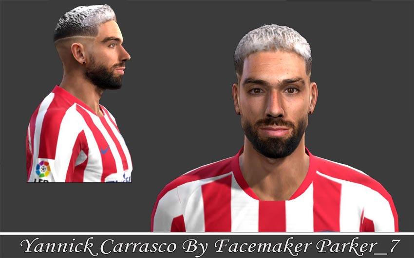 Faces Yannick Carrasco For PES 2013