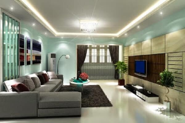 living room furniture modern design painting ideas