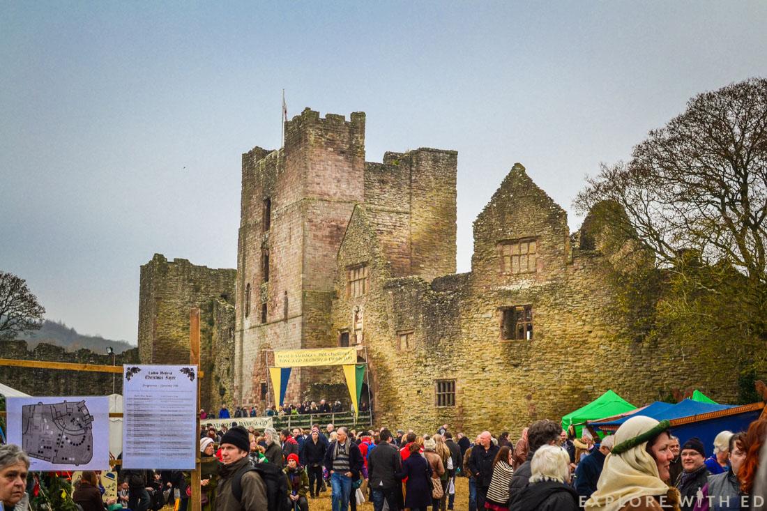 Ludlow Castle christmas fayre
