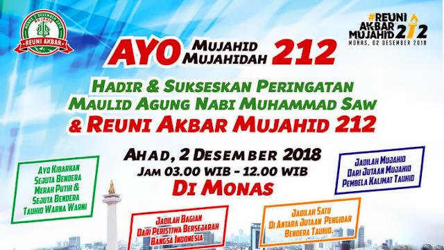 alasan ikut reuni 212 monas 2018
