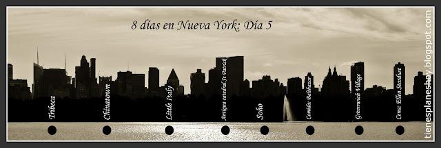 Itinerario día 5 de 8 Nueva York