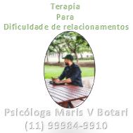 Terapia para dificuldade de relacionamento ❖Psicologa Sp, São Paulo, Vila Mariana.