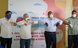 Antonio Tavares Guzmán y Alcalde de Santo Domingo Oeste Coordinan Acciones de asistencia Social y Prevención de Salud