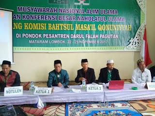 IMG 20171124 WA0006 - Komisi Bahtsul Masail Qonuniyyah NU Soroti Sejumlah Isu dalam RUU KUHP