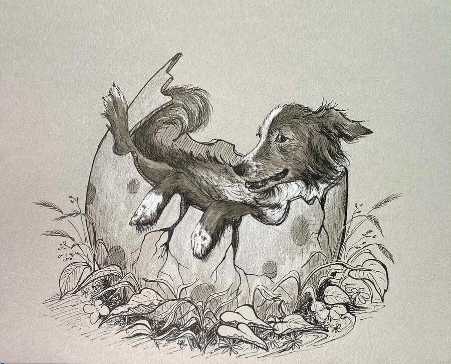 07-The-puppy-just-hatched-Kyla-Barnett-www-designstack-co