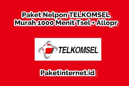 √ Cara Daftar Paket Nelpon Telkomsel Murah 1000 Menit Tsel + AllOpr