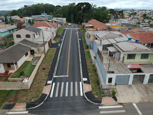 Pavimentação da Rua Rosa Lazarotto Strapasson é concluída