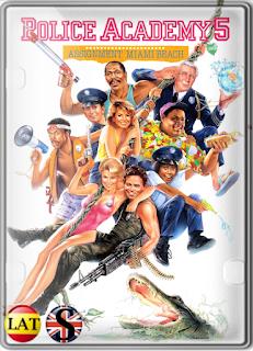 Loca Academia de Policía 5: Operación Miami Beach (1988) FULL HD 1080P LATINO/ESPAÑOL/INGLES