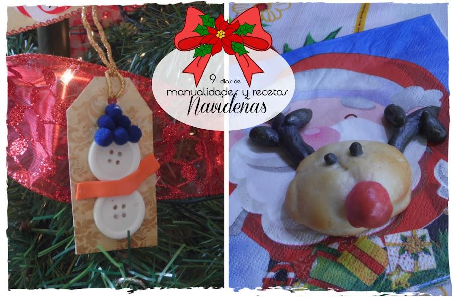 Etiquetas para los regalos navideños y Pan de leche