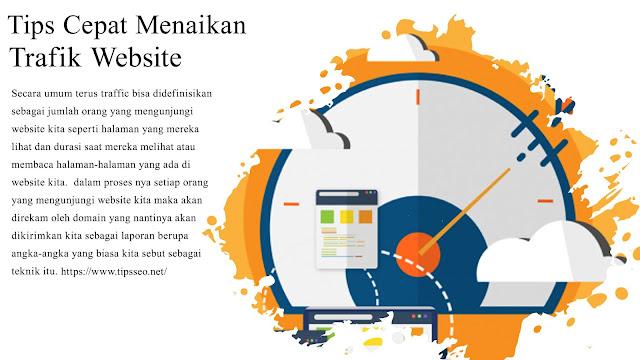 Cara ini terbukti dapat meningkatkan traffic website kita