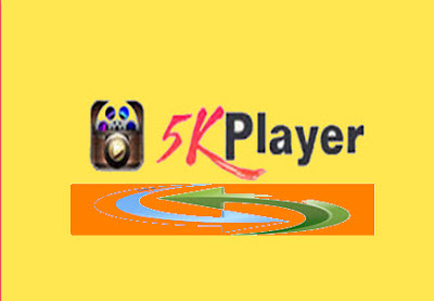 ( 5KPlayer ) - تحويل صيغ الفيديو من و الى MP3 AAC MP4