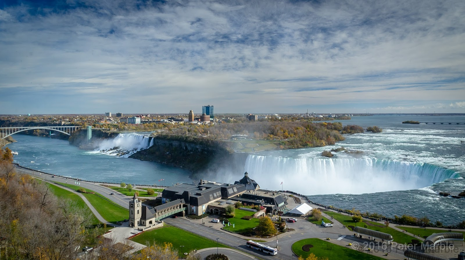 Niagara Falls - November 2016 - copyright Peter Marble