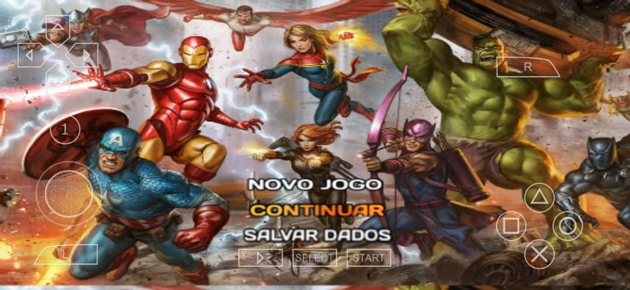 Marvel Avengers Game PSP