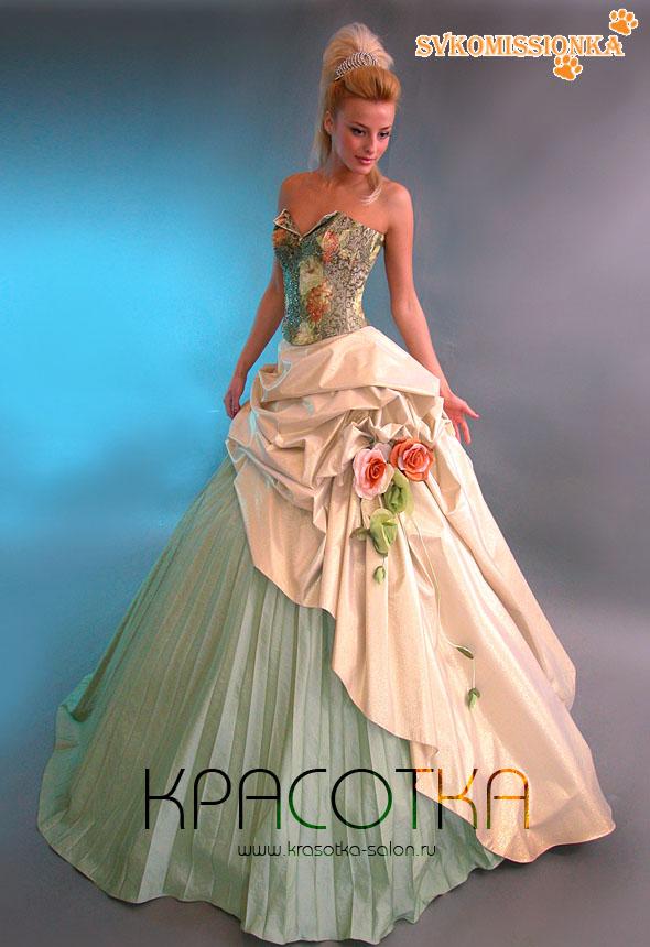 15c526c9e79f1f7 Вечернее платье София 1 от Оксани Мухи.Состояние идеальное.Очаровательное  платье, в котором Вы сможете почувствовать себя настоящей пренцессой.