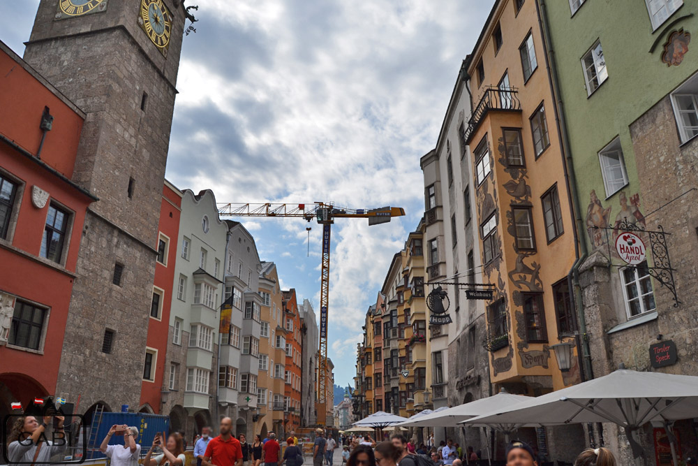 Austria - Innsbruck centrum miasta