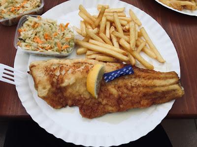 Smażalnia ryb Frykas, wieś Chłopy