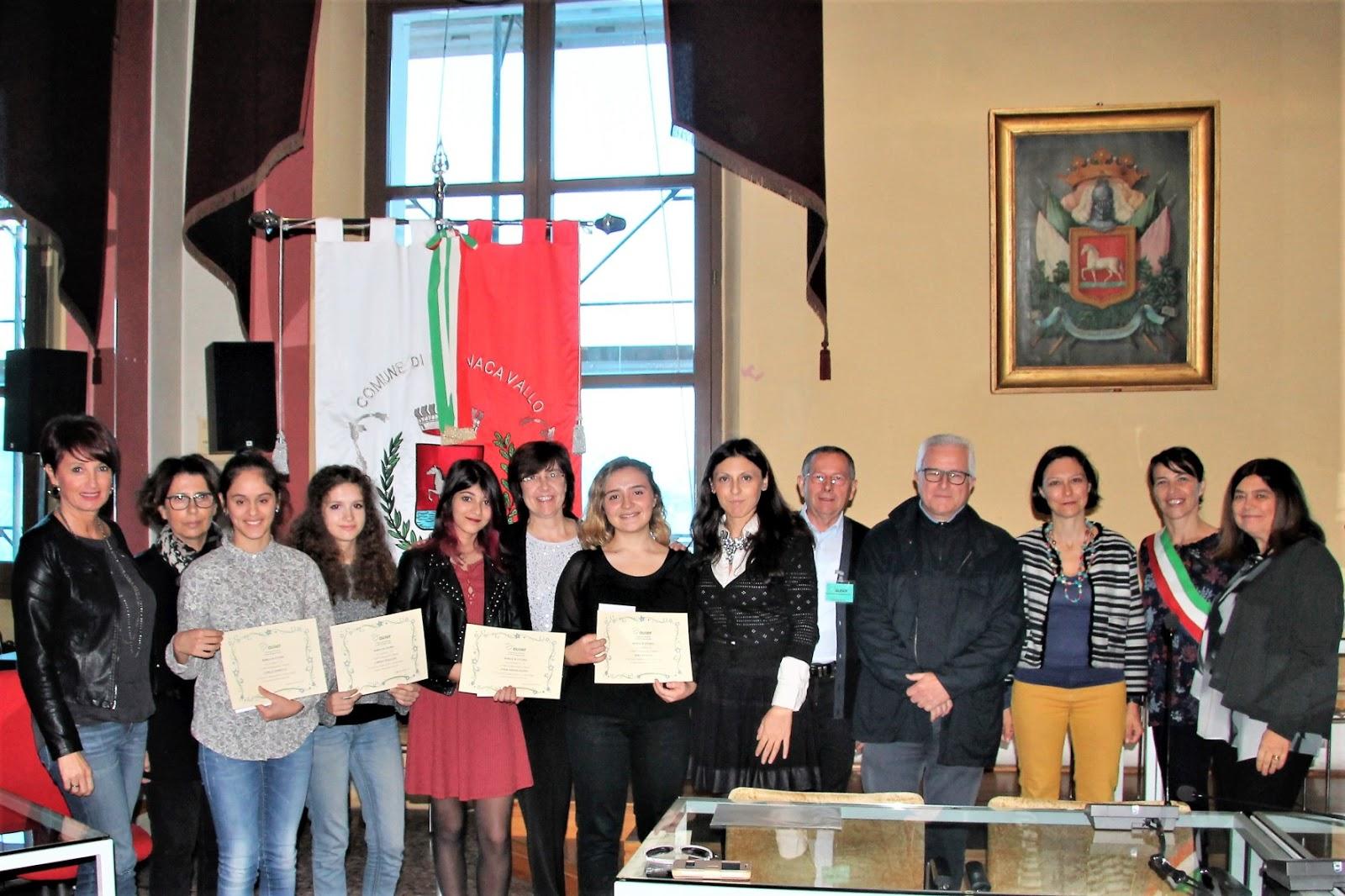 d9c49c071b Diplomi di Inglese e borse di studio consegnati in municipio di Bagnacavallo