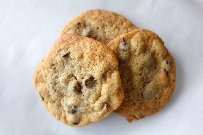 chocolate chip cookies made with Plugra